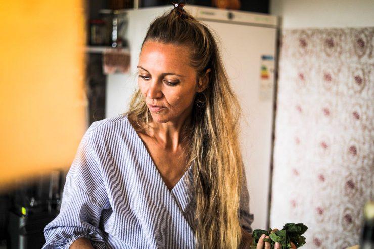 tina cooking